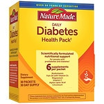 Nature Made Daily Diabetes Health Pack, Packets- 30 ea
