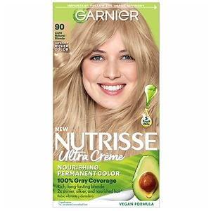 Garnier Nutrisse Permanent Haircolor, Macadamia 90- 1 ea