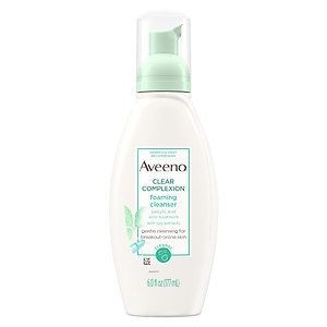 Aveeno Clear Complexion Foaming Cleanser- 6 fl oz