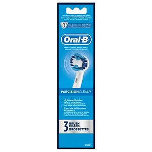 Oral-B Professional Care Precision Clean Replacement Brush Heads- 3 ea