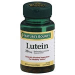 Nature's Bounty Lutein, 20 mg, Softgels