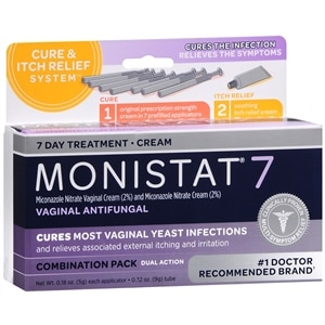 Monistat 7 Vaginal Antifungal Cream Prefilled Applicator