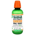 TheraBreath Naturally Oxygenating Oral Rinse, Mild Flavor