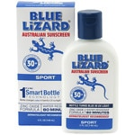 Blue Lizard Australian Sunscreen Sport Zinc Oxide Formula , SPF 30+