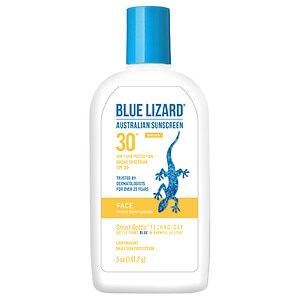 Blue Lizard Australian Sunscreen, Face, SPF 30+- 5 fl oz