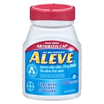 Aleve Pain Reliever Fever Reducer Easy Open Cap, Tablets- 200 ea