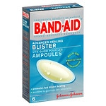 Band-Aid Advanced Healing Blister, Cushions- 6 ea