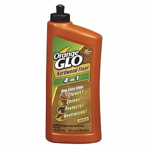 Orange Glo Hardwood Floor 4-in-1 One Easy Step Cleaner, Fresh Orange Scent- 24 fl oz