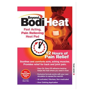 Beyond Bodi Heat Pain Relieving Heat Pad- 10 ea