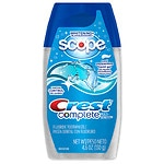 Crest Complete Multi-Benefit Gel, Whitening Plus Scope, Cool Peppermint
