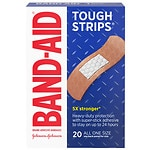 Band-Aid Tough-Strips Bandages- 20 ea