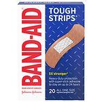 Band-Aid Tough-Strips Bandages- 20 ea