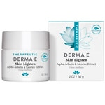 derma e Skin Lighten Natural Fade and Age Spot Creme Treatment- 2 oz