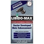 Applied Nutrition Libido-Max Power Extending Formula, Liquid Soft-Gels- 75 ea