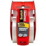 Scotch Strapping Tape with Sure Start Dispenser, 2 in x 360 in