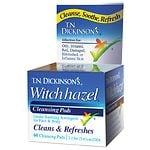 T.N. Dickinson's Hazelets Witch Hazel Pads- 60 ea