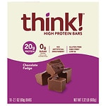 thinkThin High Protein Bars, Chocolate Fudge, 10 pk- 2.1 oz