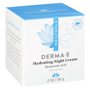 derma e Hyaluronic Acid Night Creme- 2 oz