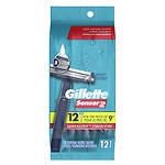 Gillette Sensor 2 Disposable Razors- 12 ea