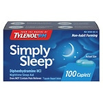 Simply Sleep Nighttime Sleep Aid Capsules- 100 ea