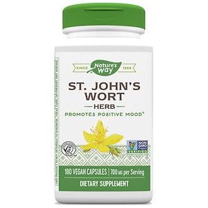 Nature's Way St. John's Wort 350 mg, Capsules- 180 ea