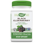Nature's Way Elderberry Berries & Flowers, Capsules