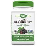 Nature's Way Elderberry,Vegetarian Capsules- 100 ea
