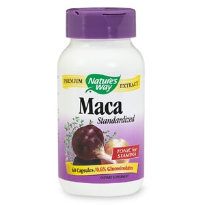 Nature's Way Standardized Maca, Capsules- 60 ea