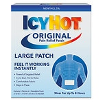 Icy Hot Extra Strength, Medicated Patch, Back & Large Areas