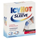 Icy Hot Maximum Strength, Medicated Sleeve, Ankles, Elbows & Knees, Large
