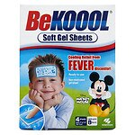 Be Koool Soft Gel Sheets for Kids