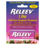 Releev 1-Day Cold Sore Symptom Treatment
