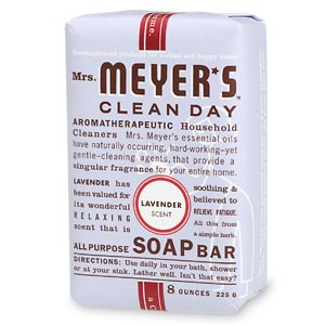 Mrs. Meyer's Clean Day All Purpose Soap Bar, Lavender