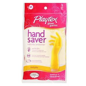 Playtex Handsaver Gloves FlexStrong Formula, Medium, 1 pr (078300063216)