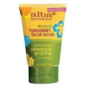 Alba Botanica Hawaiian Facial Scrub, Pore Purifying Pineapple Enzyme