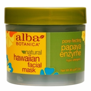 Alba Botanica Hawaiian Facial Mask, Pore-fecting Papaya Enzyme- 3 oz
