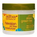 Alba Botanica Hawaiian Oil-Free Moisturizer, Refining Aloe &