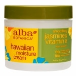 Alba Hawaiian Moisture Cream, Jasmine & Vitamin E
