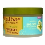 Alba Hawaiian Body Scrub, Sea Salt