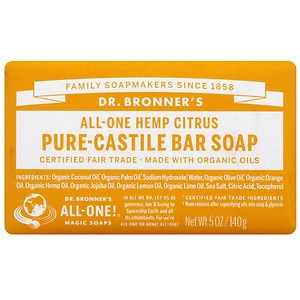 Dr. Bronner's All-One Hemp Pure-Castile Soap, Citrus Orange&nbsp;