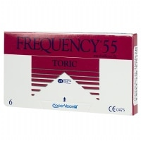 Frequency 55 Toric XR Custom Lens- 6 lenses per Box