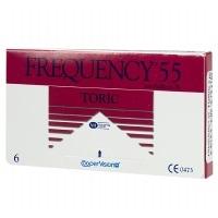 Frequency 55 Toric XR Custom Lens- 6 lenses per Box