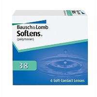SofLens 38 (Optima FW) Contact Lens- 6 ea
