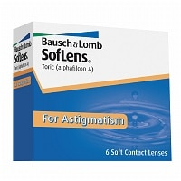 SofLens For Astigmatism Contact Lens- 6 ea