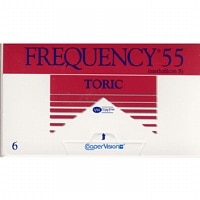 Frequency 55 Toric Contact Lens- 6 lenses per Box