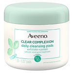 Aveeno Clear Complexion Daily Cleansing Pads- 28 ea