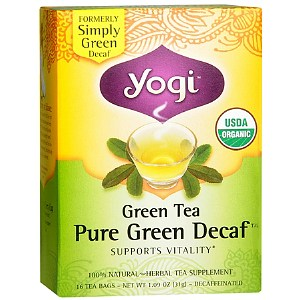 Yogi Tea Green Tea , Pure Green Decaf