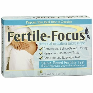 Fertile-Focus Saliva Ovulation Fertility Test- 1 ea