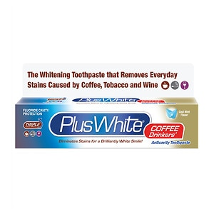 Plus White Coffee Drinkers' Whitening Toothpaste
