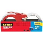 Scotch Packaging Tape, With Refillable Dispenser, 1.88 in x 38.2 yd- 2 ea
